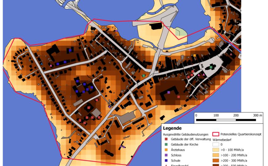 """Übersichtskarte des Quartiers """"Plön Südwest"""", Bildquelle: Kreis Plön"""