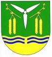 Das Wappen der Gemeinde Puls